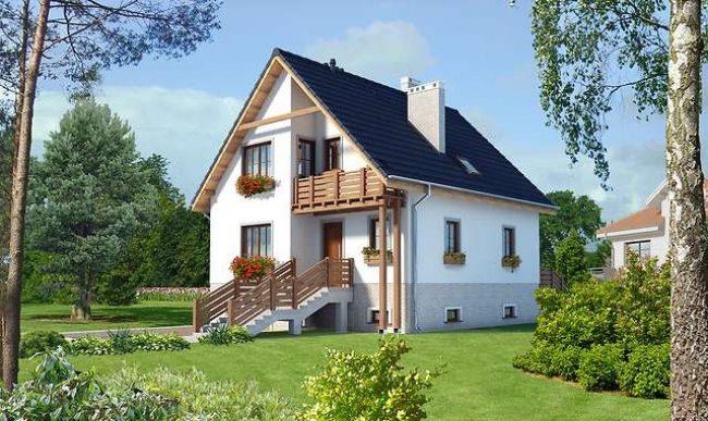 Проект дома-383