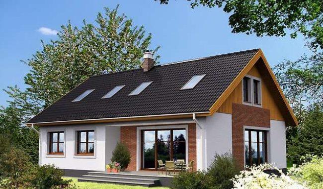 Проект дома-398