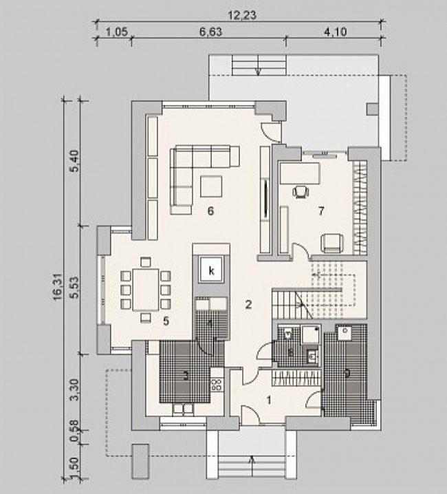 Проект дома-116