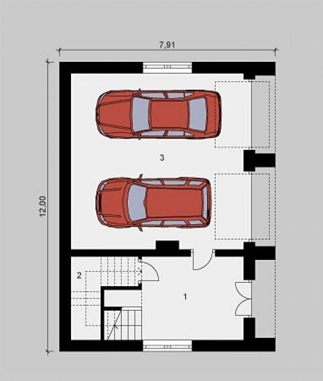 Проект гаража-223