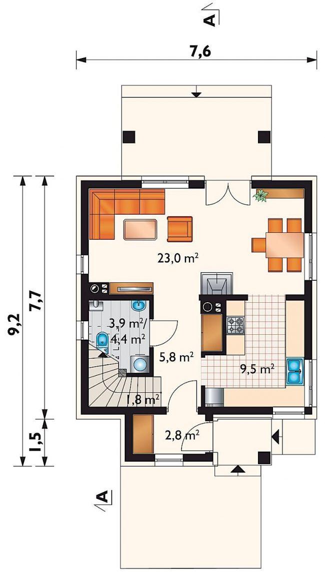 Проект дома-348
