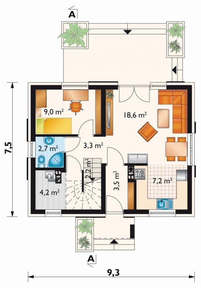 Проект дома-350