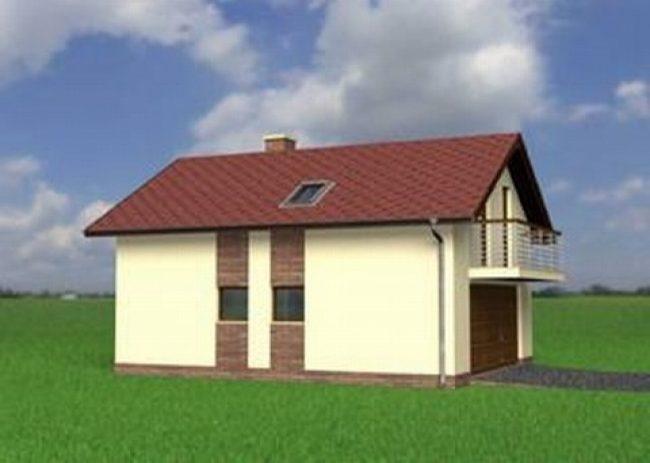 Проект гаража-165