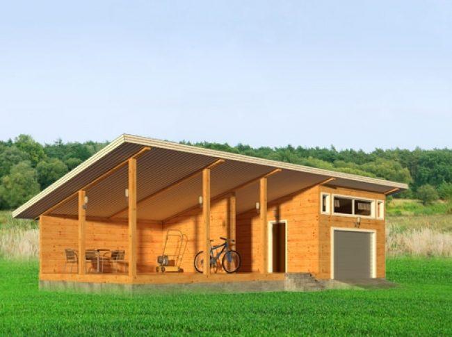 Проект гаража-138