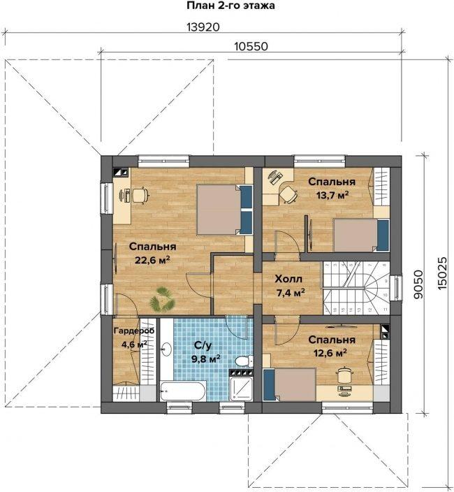 Проект дома-54