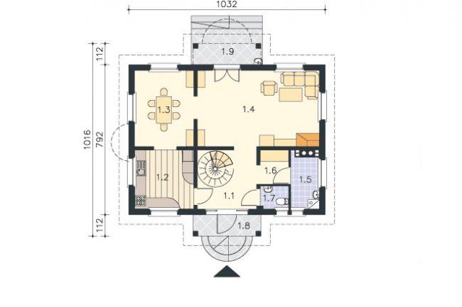 Проект дома-404