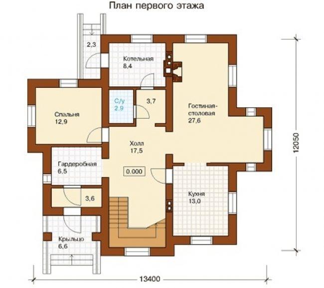 Проект дома-107