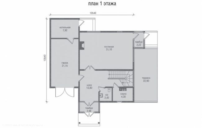 Проект дома-70