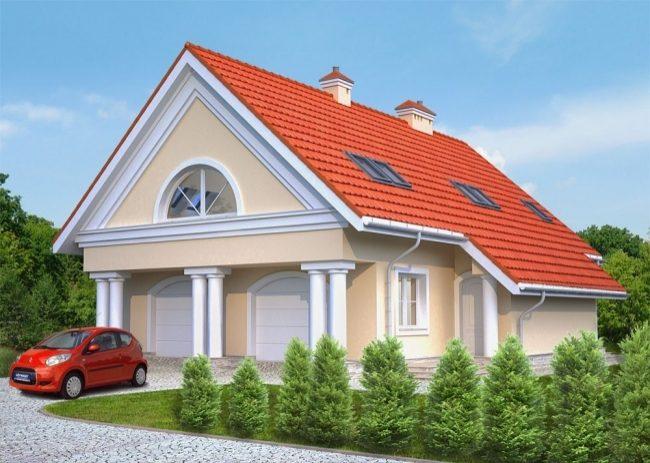 Проект гаража-236
