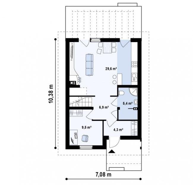 Проект дома-162