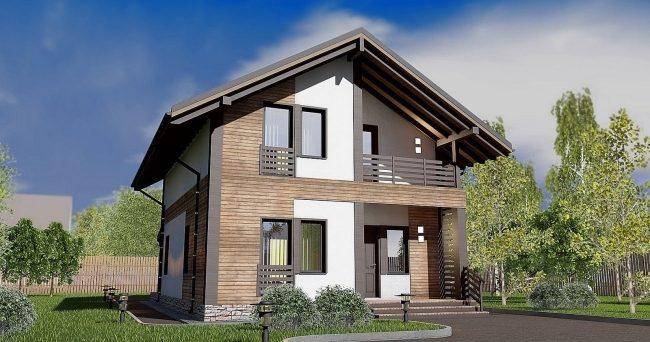 Проект дома-34
