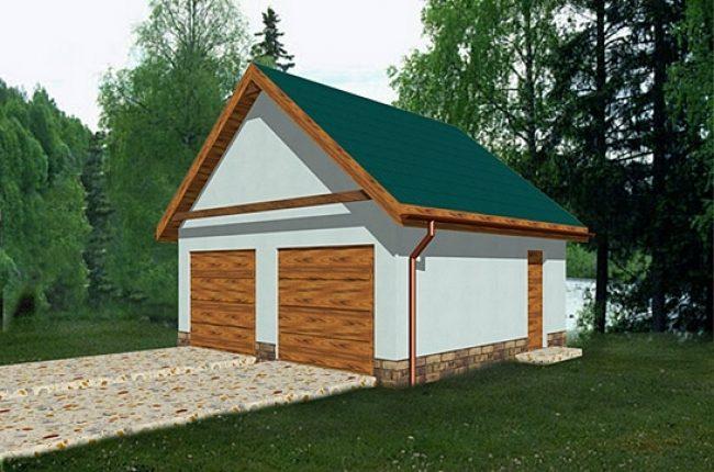 Проект гаража-84