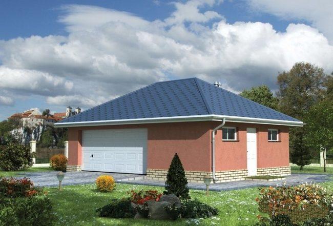 Проект гаража-115