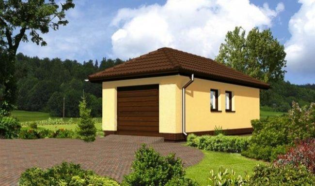 Проект гаража-39