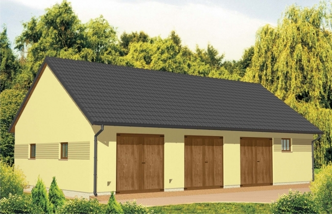 Проект гаража-230