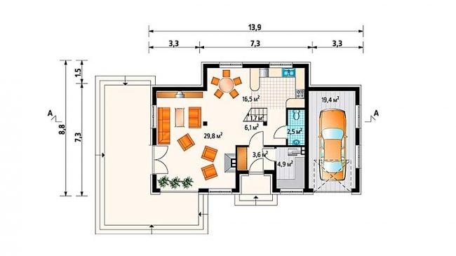 Проект дома-44