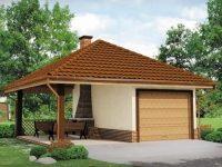 Проект гаража-147