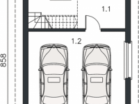 Проект гаража-160