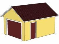 Проект гаража-18