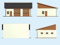 Проект гаража-216
