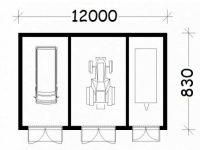 Проект гаража-227