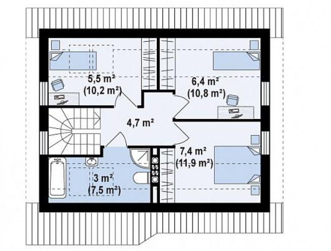 Проект дома-152