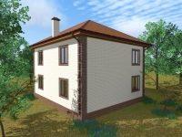 Проект дома-55