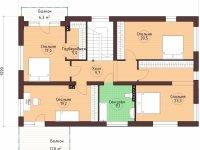 Проект дома-117