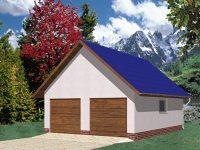 Проект гаража-110