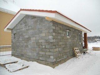 Строительство и проектирование бани из газобетона в Москве под ключ